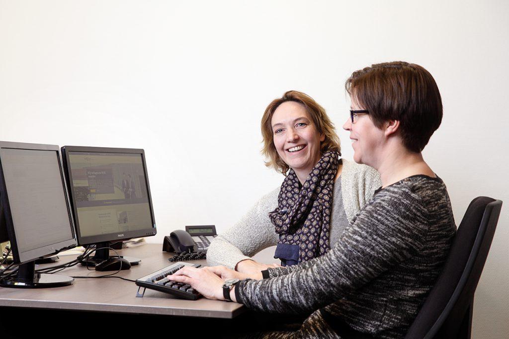 WOZ Controles voor Woningcorporaties: overleg Nicole en Debbie